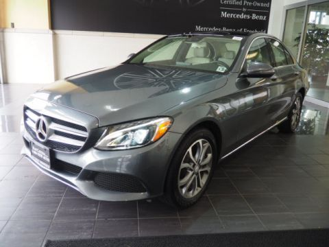 Certified Pre Owned 2017 Mercedes Benz C Cl 300 Sedan In Freehold P779 Ray Catena Of