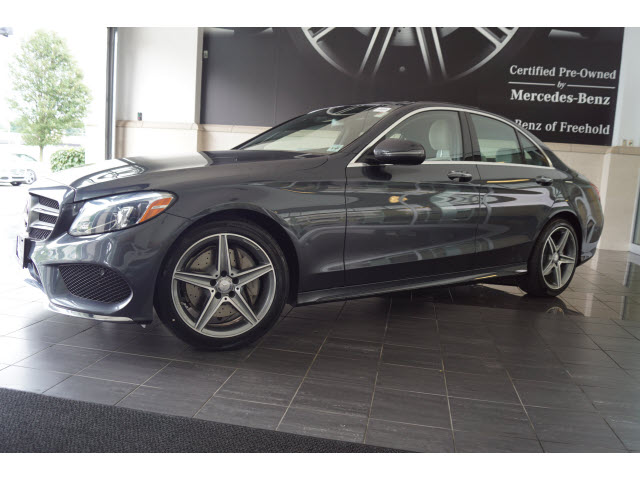 ברצינות Certified Pre-Owned 2016 Mercedes-Benz C-Class C 300 Sport SEDAN YG-34