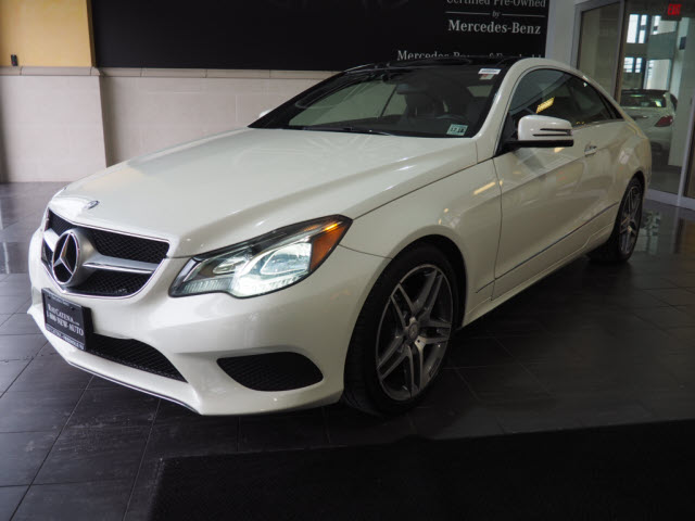 certified pre-owned 2015 mercedes-benz e-class e 400 sport coupe in