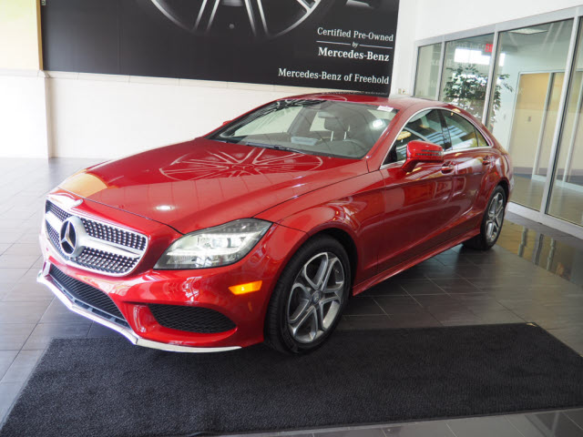 certified pre owned 2016 mercedes benz cls cls 400 coupe in freehold p598 ray catena of freehold. Black Bedroom Furniture Sets. Home Design Ideas