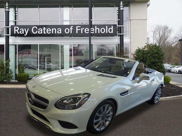 New 2017 mercedes benz slc slc 300 roadster in freehold for Ray catena mercedes benz