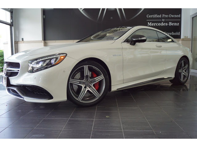 Certified Pre-Owned 2017 Mercedes-Benz S-Class AMG® S 63 Coupe